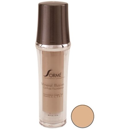 Sorme Cosmetics Mineral Illusion - Oil Free Luminous Foundation - Color : Honey #714