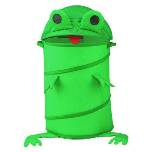 Redmon for Kids The Original Bongo Bag Frog Pop Up Hamper