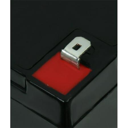 6V 12AH F2 SLA Replacement Battery for Streamlight Litebox SL40 - image 4 of 6