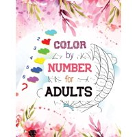 Color by Number for Adults: Guided Biblical Inspiration Adult Coloring Book, A Christian Coloring Book gift card alternative, Christian Religious Lessons Relaxing coloring book (Paperback)