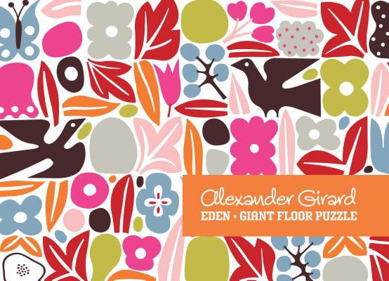 Alexander Girard Eden Giant Floor Puzzle by Ammo Books