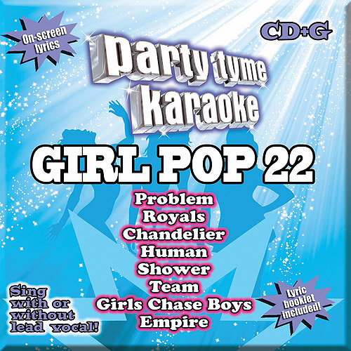 Party Tyme Karaoke: Girl Pop, Vol. 22