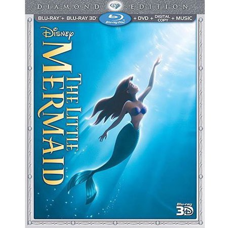 The Little Mermaid: Diamond Edition (Blu-ray + Blu-ray + DVD + Digital Copy)