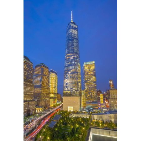 Usa, New York, Manhattan, Downtown, World Trade Center, Freedom Tower or One World Trade Center Print Wall Art By Alan Copson ()