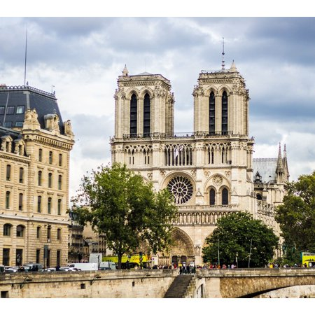 LAMINATED POSTER Cathedral Dame Notre Paris Poster Print 24 x 36