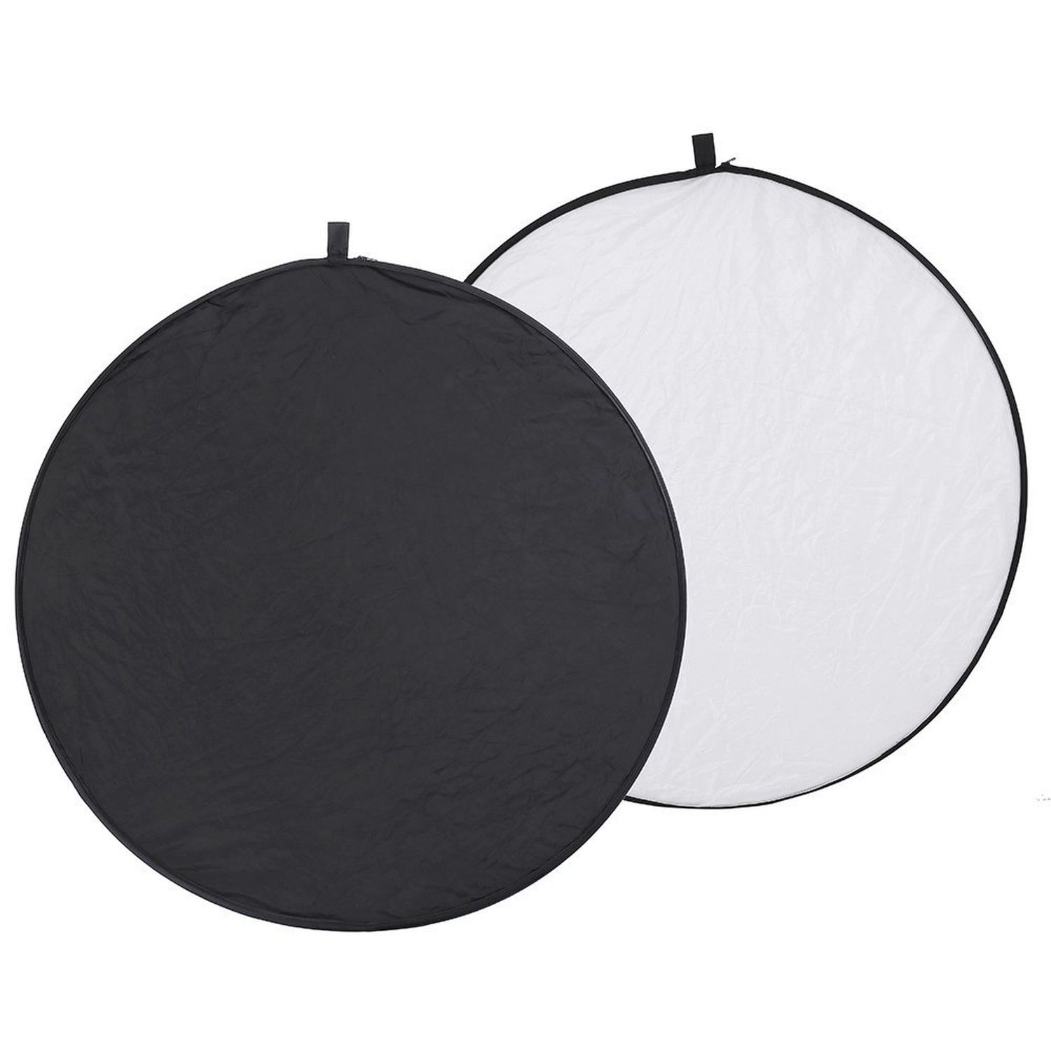 Neewer Pro 2-in-1 43//110cm Round Collapsible Reflector Diffuser White//Silver for Photography and Video Shooting with A Carrying Pouch