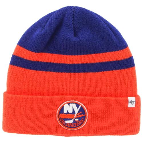 New York Islanders '47 Cedarwood Cuffed Knit Hat - Orange/Royal - OSFA