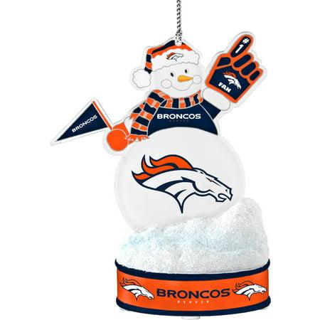 Topperscot by Boelter Brands NFL LED Snowman Ornament, Denver Broncos (Denver Broncos Decorations)