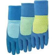 Midwest Quality Gloves Ladies EZ Grip Textured Rubber Gloves, Large