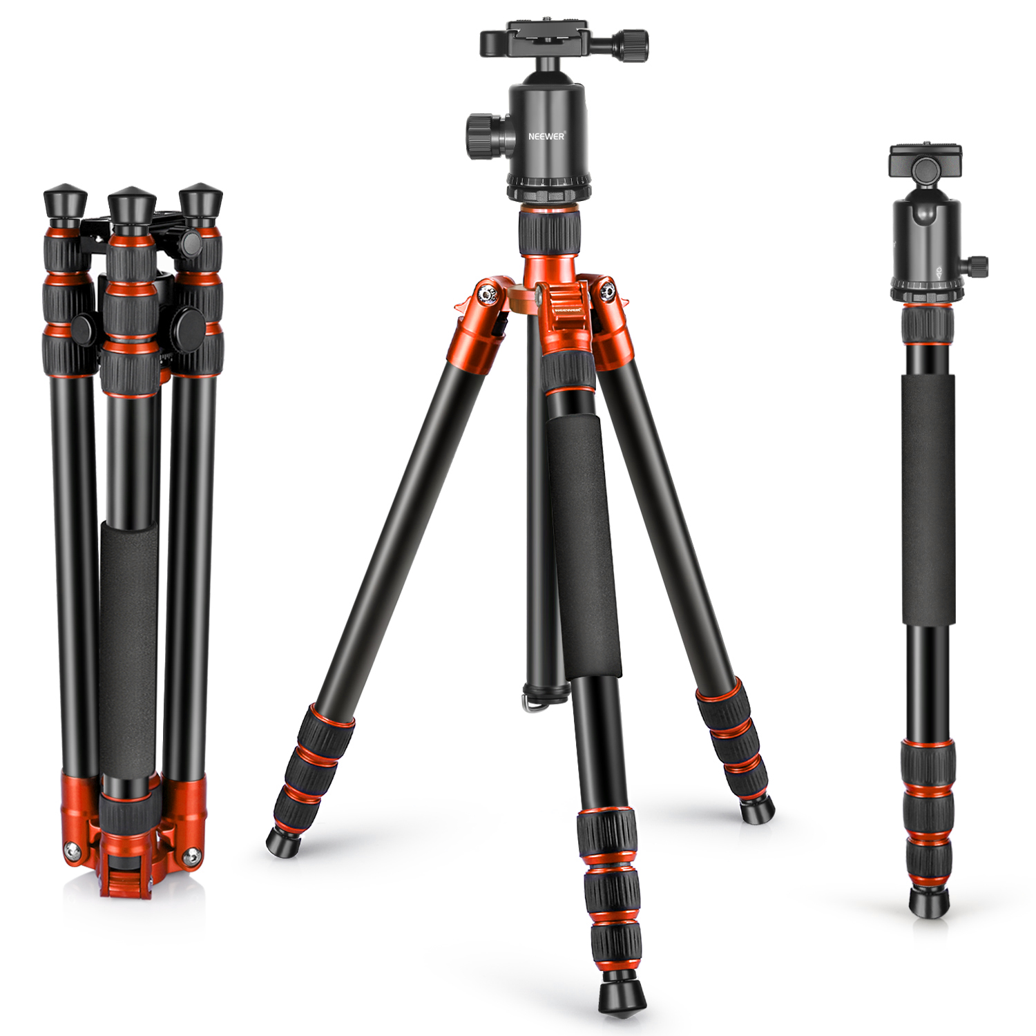 Neewer Aluminum Alloy 65 inches/165 centimeters Tripod Mo...