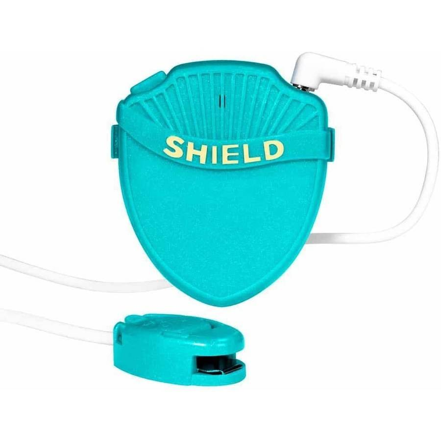 Shield Max Bedwetting Alarm for Deep Sleepers, Green