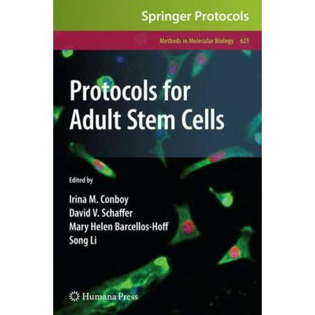 Protocols For Adult Stem Cells  Methods In Molecular Biology