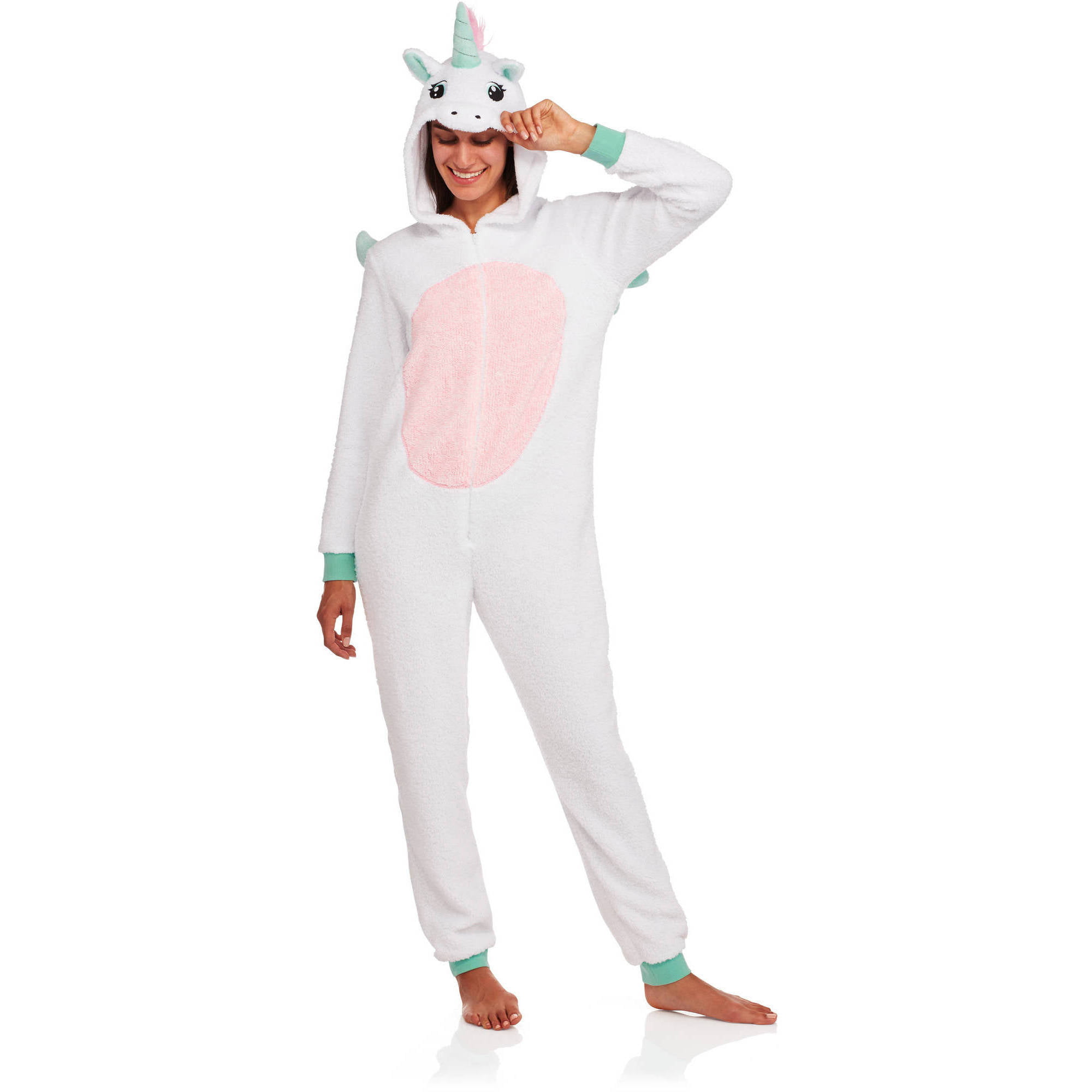 be928d9311 Women s Assorted Character Sleepwear Adult One Piece Costume Union Suit  Pajama (Sizes XS-3X) - Walmart.com