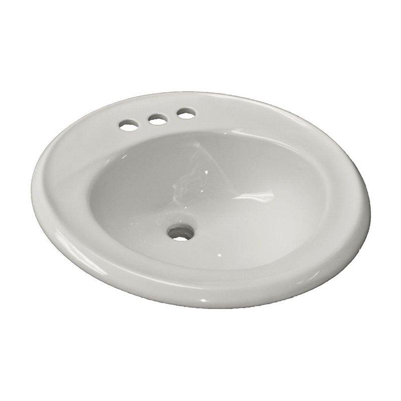 American Standard Kentucky 0449.004US.020 Drop-In Sink - White