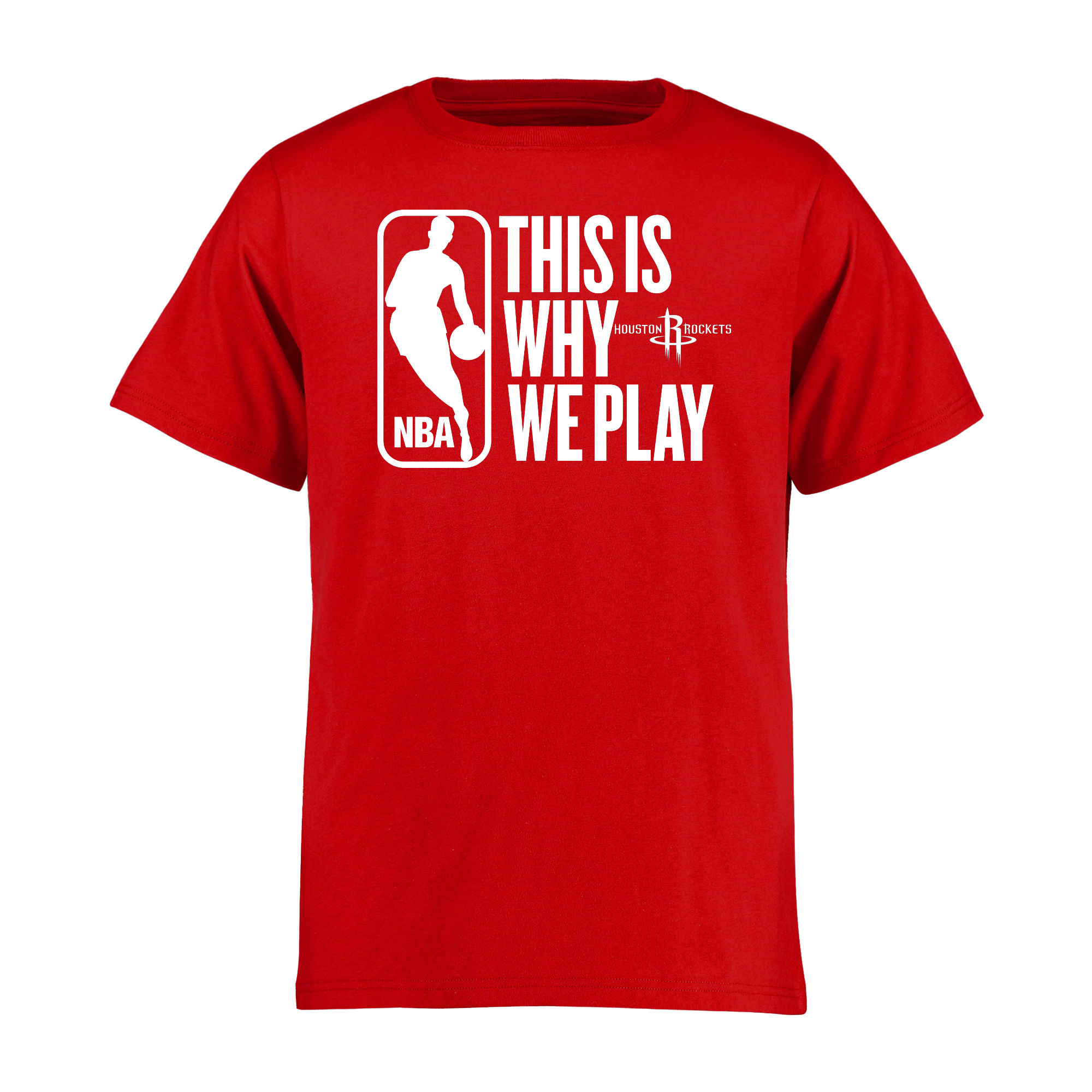 Houston Rockets Youth This Is Why We Play T-Shirt - Red