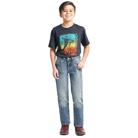 Rock and Roll Denim, Boys Reovler Fit Bootcut, Size 8R, BBS2384