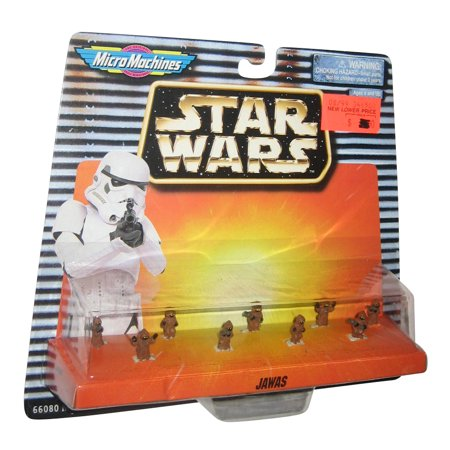 Star Wars Micro Machines Jawas Galoob Mini Figure Toy Set