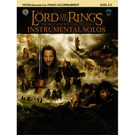 The Lord of the Rings, Instrumental Solos: Violin Removable Part / Piano Accompaniment