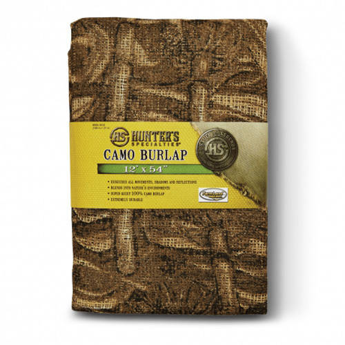 Hunters Specialties Camo Burlap, Available in Multiple Patterns and Sizes