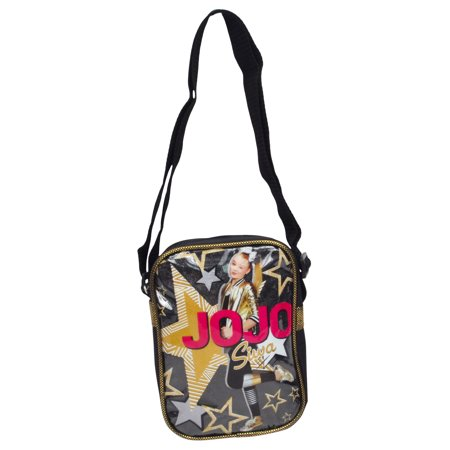 Girls JoJo Siwa Crossbody Shoulder Bag Black