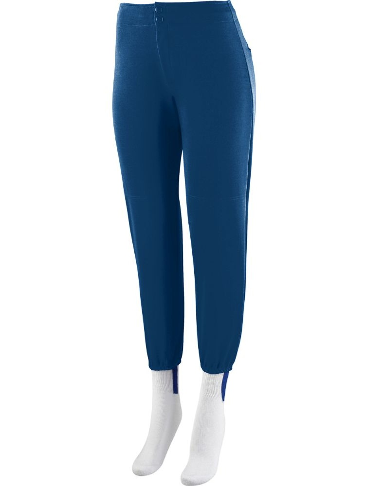 Augusta Sportswear Girls' LOW RISE SOFTBALL PANT 829