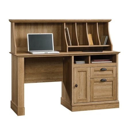 Sauder Barrister Lane Computer Desk With Hutch In Scribed