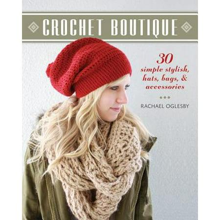 Crochet Boutique : 30 Simple, Stylish Hats, Bags & Accessories](Gorros A Crochet De Halloween)