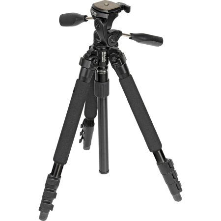 Slik 340 DX Pro Series Black Tripod 3Way Pan/Tilt Head & Quick Release