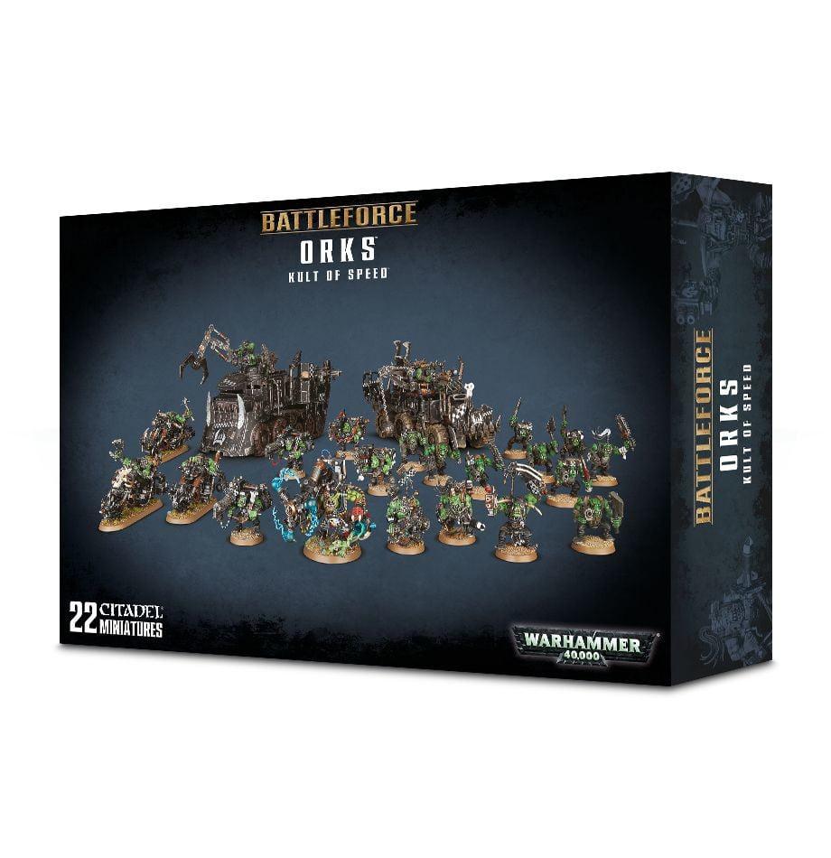 Battleforce: Orks Kult of Speed Warhammer 40,000 by