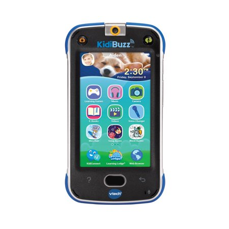 VTech KidiBuzz for Messaging, Photos, Video and Learning (Toy Cell Phone For 1 Year Old)