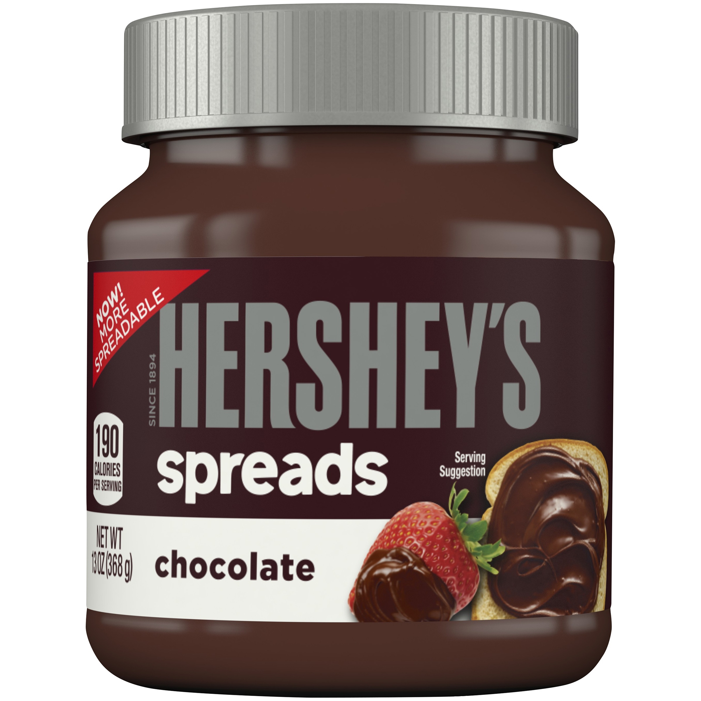 HERSHEY'S Spreads Chocolate Flavor, 13 oz