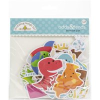 Doodlebug SMP6055 Odds & Ends Die-Cuts - So Much Pun, 113 per Pack