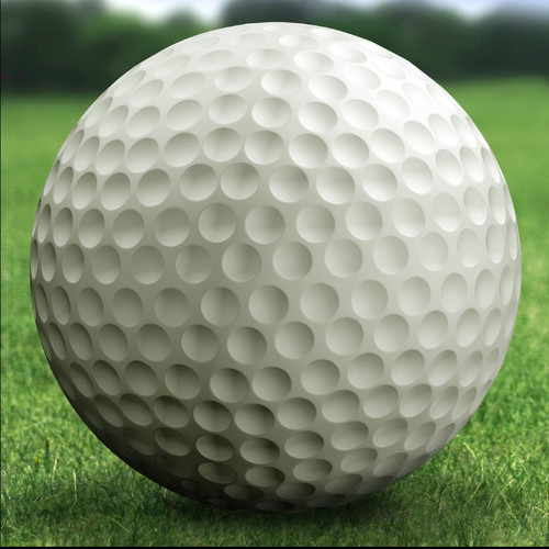 Ladybug Garden Decor Golf Ball Statue