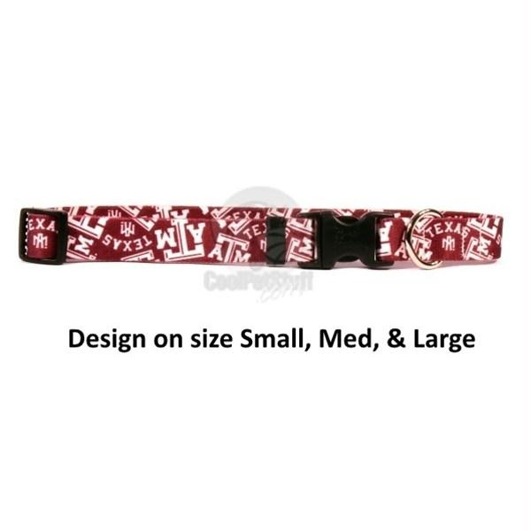 Texas A&M Aggies Nylon Collar - X-Small