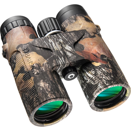 Barska 12x42 WP Blackhawk Binoculars, Mossy Oak Break-Up Finish