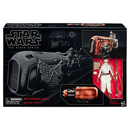 Hasbro HSBC1427 Star Wars Episode 7 Black Series Reys Speeder & Rey (Hasbro Star Wars Episode)