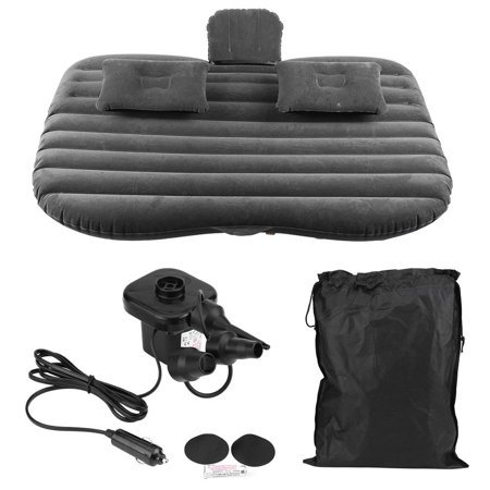 Car Inflatable Bed Back Seat Mattress Airbed for Rest Sleep Travel Camping