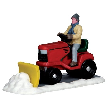 - Ride on Snowplow, Village Accessory By Lemax Ship from US