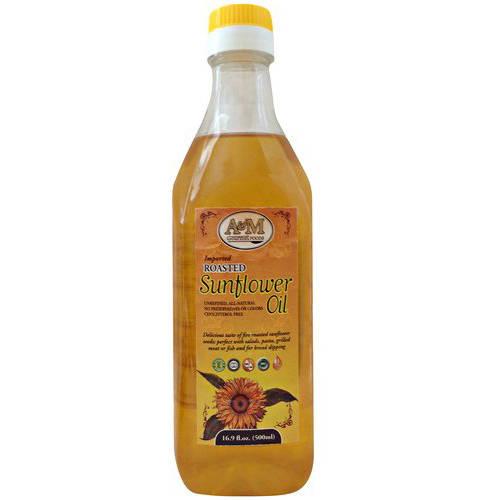 A&M Gourmet Foods Roasted Sunflower Oil, 16.9 fl oz