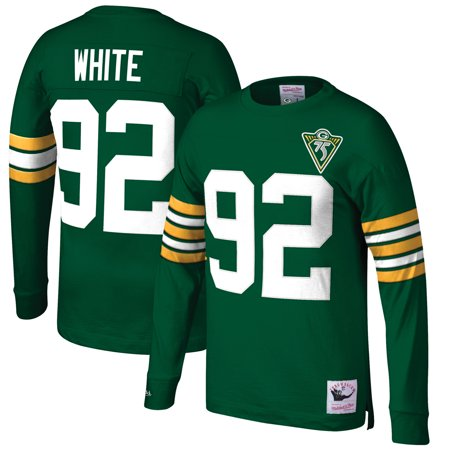 Reggie Wayne Nfl - Reggie White Green Bay Packers Mitchell & Ness Big & Tall Retired Player Name & Number Long Sleeve Top - Green