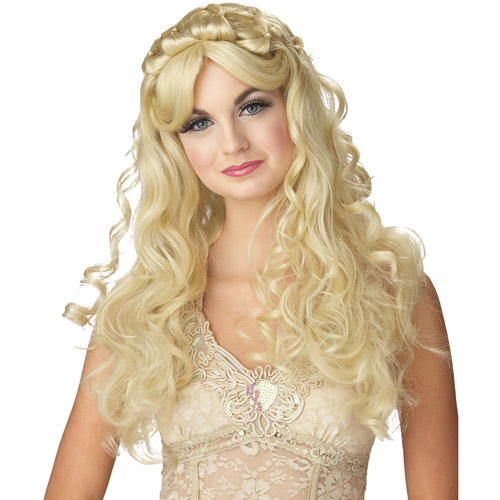 Princess Blonde Adult Halloween Wig