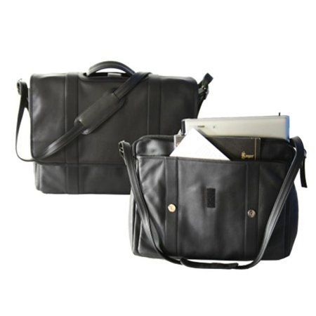 "Deluxe Expandable 17"" Laptop Brief"