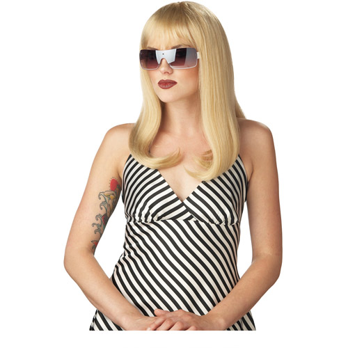 Platinum Glam Wig Adult Halloween Accessory