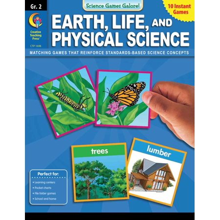 Science Games Galore! - Earth Life and Physical Science Grade 2