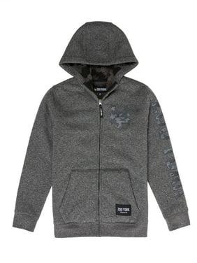 Zoo York Zip-Up Fleece Sherpa Hooded Sweatshirt (Little Boys & Big Boys)