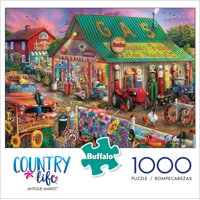 Buffalo Games Country Life Antique Market 1000 Piece Jigsaw Puzzle