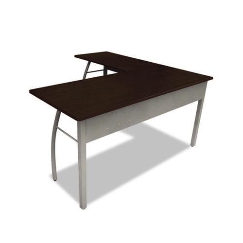 Trento Line L Shaped Desk Littr737moc Walmart Com
