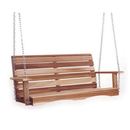 (All Things Cedar Classic 4 ft. Cedar Porch Swing)