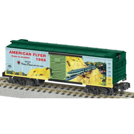 American Flyer 6-48826 S Scale 1956 Catalog Boxcar