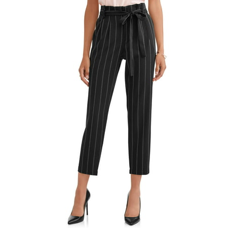 L.N.V. Women's High Waist Wide Leg Pants (Express Womens Pants)
